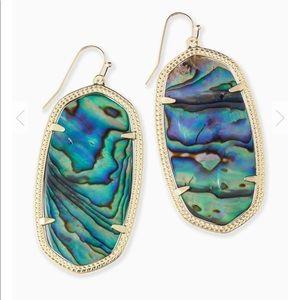 kendra scott - danielle abalone shell earring